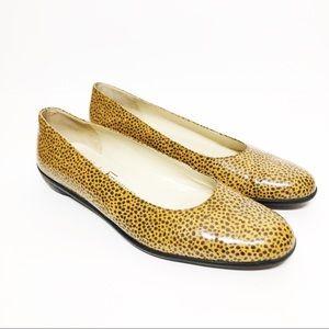 Salvatore Ferragamo Boutique Leopard Flats